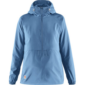 Fjällräven High Coast Lite Anorak Dames, river blue